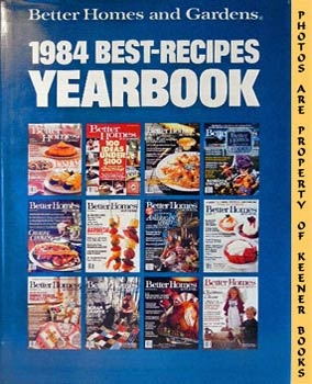 Image for Better Homes And Gardens 1984 Best-Recipes Yearbook