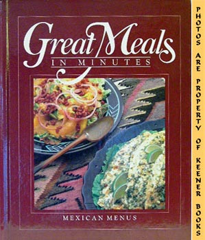 Image for Great Meals In Minutes - Mexican Menus