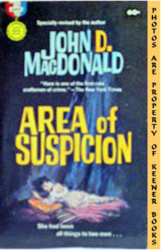 Image for Area Of Suspicion (Specially Revised By The Author)