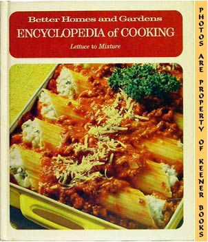 Image for Better Homes And Gardens Encyclopedia Of Cooking (LET To MIX)
