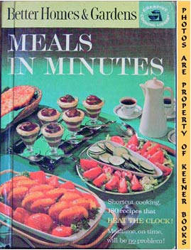 Image for Better Homes And Gardens Meals In Minutes: Creative Cooking Library Series