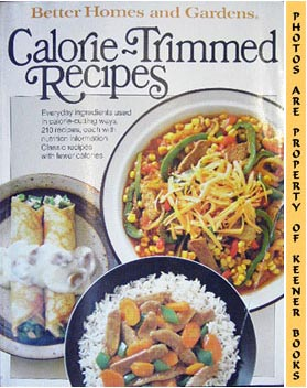 Image for Better Homes And Gardens Calorie-Trimmed Recipes
