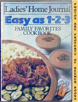 Image for Ladies' Home Journal Easy As 1-2-3 Family Favorites Cookbook