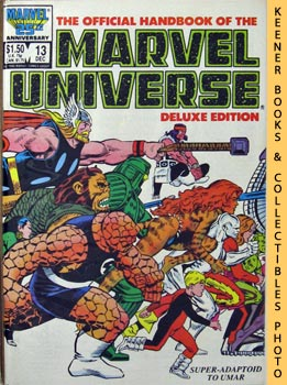 Image for The Official Handbook Of The Marvel Universe, Deluxe Edition (Vol. 2 No. 13, Dec 1986 * Super - Adaptoid To Umar)