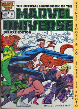 Image for The Official Handbook Of The Marvel Universe, Deluxe Edition: Vol. 2 No. 8, July 1986 * Magus To Mole Man
