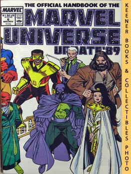 Image for The Official Handbook Of The Marvel Universe, Update '89 (Vol. 3 No. 6, Mid Nov 1989 * Prowler To Serpent Society)