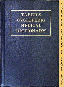 Image for Taber's Cyclopedic Medical Dictionary, Eighth Edition