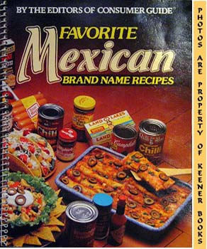 Image for Favorite Mexican Brand Name Recipes
