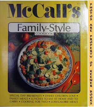 Image for McCall's Family-Style Cookbook, Vol. 5: McCall's New Cookbook Collection Series