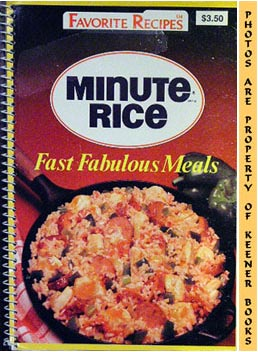 Image for Minute Brand Rice (Fast Fabulous Meals)
