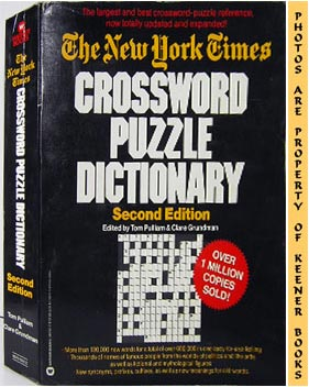 Image for The New York Times Crossword Puzzle Dictionary