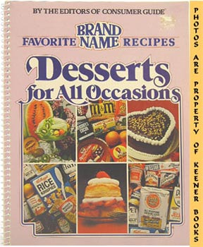 Image for Desserts For All Occasions (Favorite Brand Name Recipes)