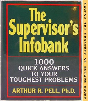 Image for The Supervisor's Infobank (1000 Quick Answers To Your Toughest Problems)