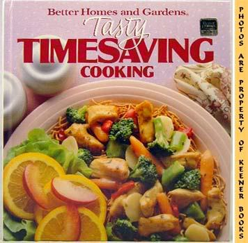 Image for Better Homes And Gardens Tasty Timesaving Cooking