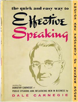 Image for The Quick And Easy Way To Effective Speaking (Revision Of Book By Dale Carnegie)