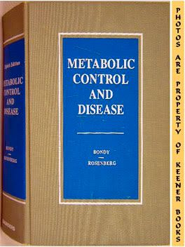 Image for Metabolic Control And Disease