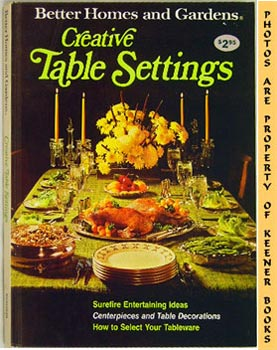 Image for Better Homes And Gardens Creative Table Settings