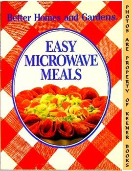 Image for Better Homes And Gardens Easy Microwave Meals