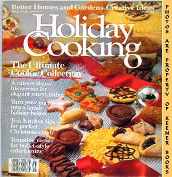 Image for Better Homes And Gardens Creative Ideas Holiday Cooking 1983