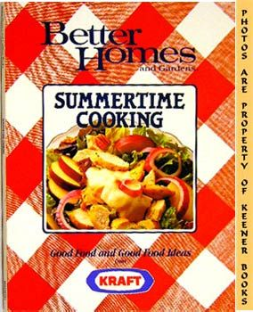 Image for Better Homes And Gardens Summertime Cooking