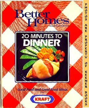 Image for Better Homes And Gardens 20 Minutes To Dinner
