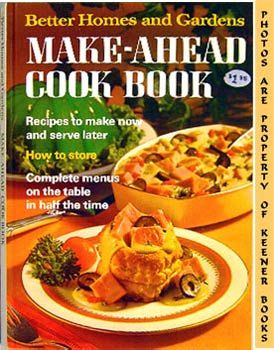 Image for Better Homes And Gardens Make-Ahead Cook Book