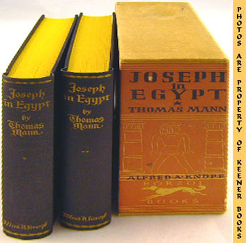 Image for Joseph In Egypt (Two Volumes In Slipcase)
