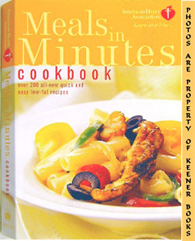 Image for American Heart Association Meals In Minutes Cookbook (Over 200 All - New Quick And Easy Low - Fat Recipes)