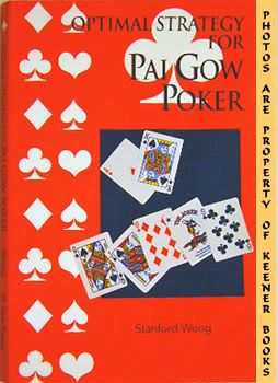 Image for Optimal Strategy For Pai Gow Poker