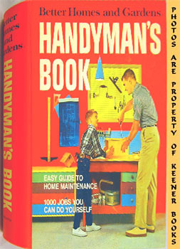 Image for Better Homes And Gardens Handyman's Book (Five -5- Ring Binder)