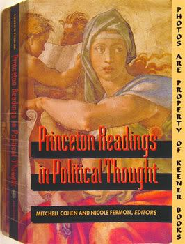 Image for Princeton Readings In Political Thought (Essential Texts Since Plato)