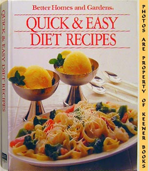Image for Better Homes And Gardens Quick And Easy Diet Recipes