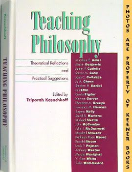 Image for Teaching Philosophy (Theoretical Reflections And Practical Suggestions)