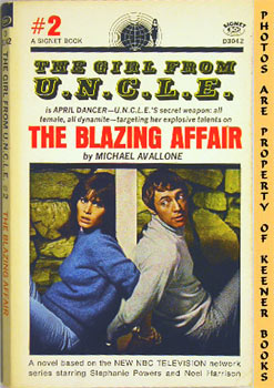 Image for The Blazing Affair (The Girl From U. N. C. L. E. #2)