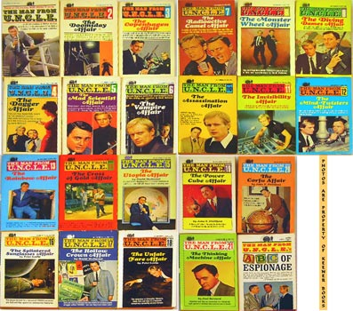 Image for The Man From U. N. C. L. E. [UNCLE] 22 Volume Collection (Includes #1, #2, #3, #4, #5, #6, #7, #8, #9, #10, #11, #12, #13, #14, #15, #16, #17, #18, #19, #20, #21 + ABC Of Espionage)