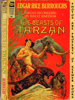 Image for The Beasts Of Tarzan (Tarzan Reconquers His Jungle Kingdom -- ACE SF Classic F - 203)