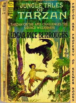 Image for Jungle Tales Of Tarzan (Tarzan Of The Apes Challenges The Savage Wilderness -- Ace SF Classic F - 206)