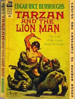 Image for Tarzan And The Lion Man (The Lord Of The Jungle Meets His Double -- Ace SF Classic F - 212)
