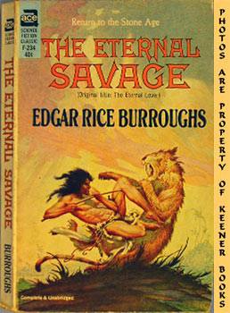 Image for The Eternal Savage (Original Title: The Eternal Lover -- Ace SF Classic F - 234)
