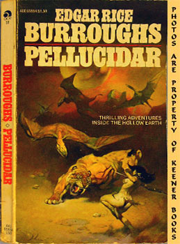 Image for Pellucidar (Thrilling Adventures Inside The Hollow Earth -- Ace 65854)
