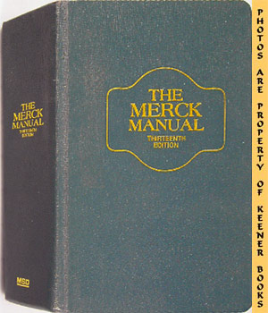 Image for The Merck Manual Of Diagnosis And Therapy: Thirteenth - 13th - Edition