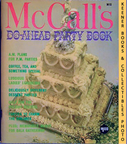 Image for McCall's Do-Ahead Party Book, M10: McCall's Cookbook Collection Series