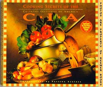 Image for Cooking Secrets Of The CIA (Culinary Institute Of America)