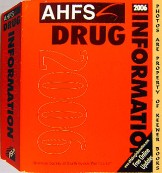 Image for AHFS Drug Information 2006