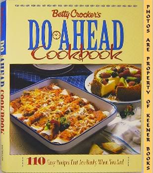 Image for Betty Crocker's Do-Ahead Cookbook