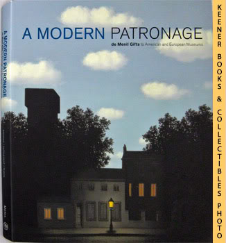 Image for A Modern Patronage : De Menil Gifts To American And European Museums