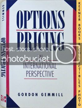 Image for Options Pricing (An International Perspective)