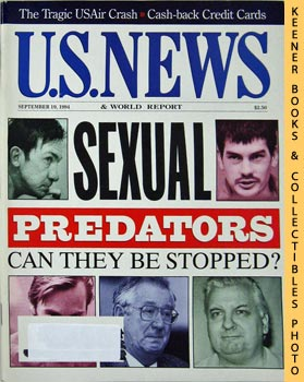 Image for U. S. News & World Report Magazine - September 19, 1994 (Sexual Predators - Can They Be Stopped?)