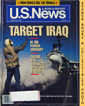 Image for U. S. News & World Report Magazine - August 20, 1990 (Target Iraq)