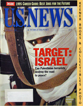 Image for U. S. News & World Report Magazine - October 31, 1994 (Target: Israel - Can Palestinian Terrorists Destroy The Road To Peace?)
